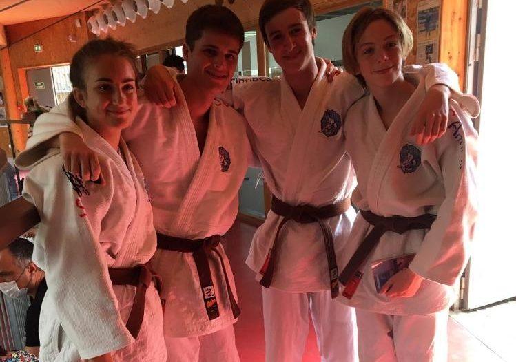 3 réussites à l'examen du Nage no kata pour 3 judokas du JCA